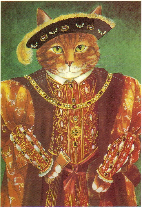 Cats henry the tudor cat