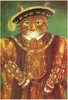 Large cats henry the tudor cat