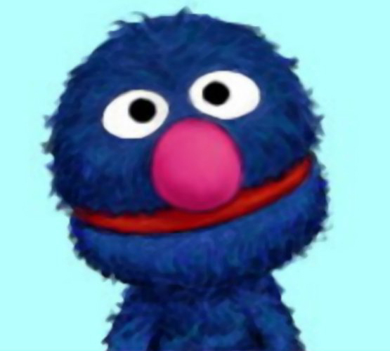 Grover cute face grover monster 20091754 555 500