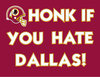Large honk if you hate dallas