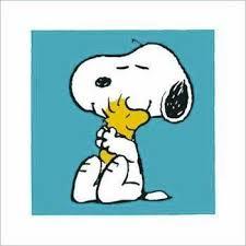 Snoopy   woodstock  hug