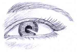 Eye darker