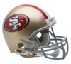 Large 49ers helmet