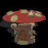 Large mushroom home  1