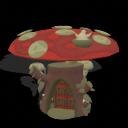 Mushroom home  1