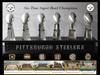 Large 2016 steelers wallpaper six superbowls rings trophys