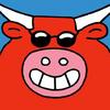 Large cow avatar