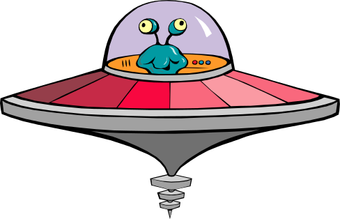 Flying saucer 2