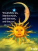 Large sun moon stars