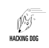 Large hacking dog original