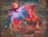 Large compressed orion nebula