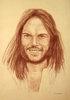 Large neil young by tom art