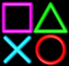 Large psn logo free.square triangle ex o