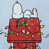 Large snoopy doghouse lights t link