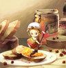 Large apple jam  fairy by mushstone d3d92vp