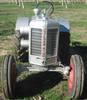 Large silverking tractor