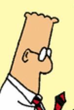 Dilbert s head