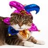 Large jester cat
