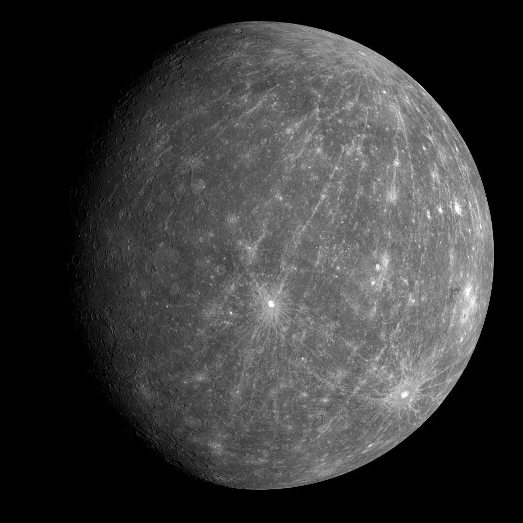 Mercury flyby2 gibbous