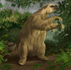 Large ground sloth