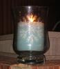 Large pastor s new candle