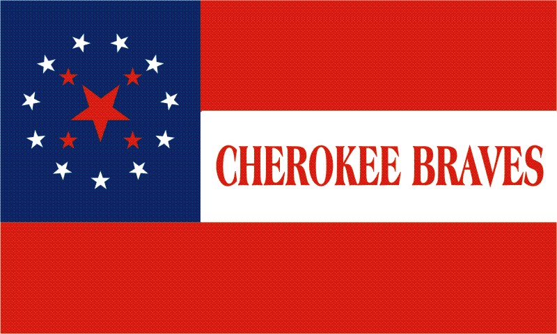 Cherokee braves stars   bars