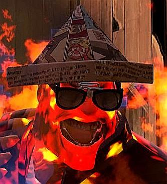 Flamingpaperhat2