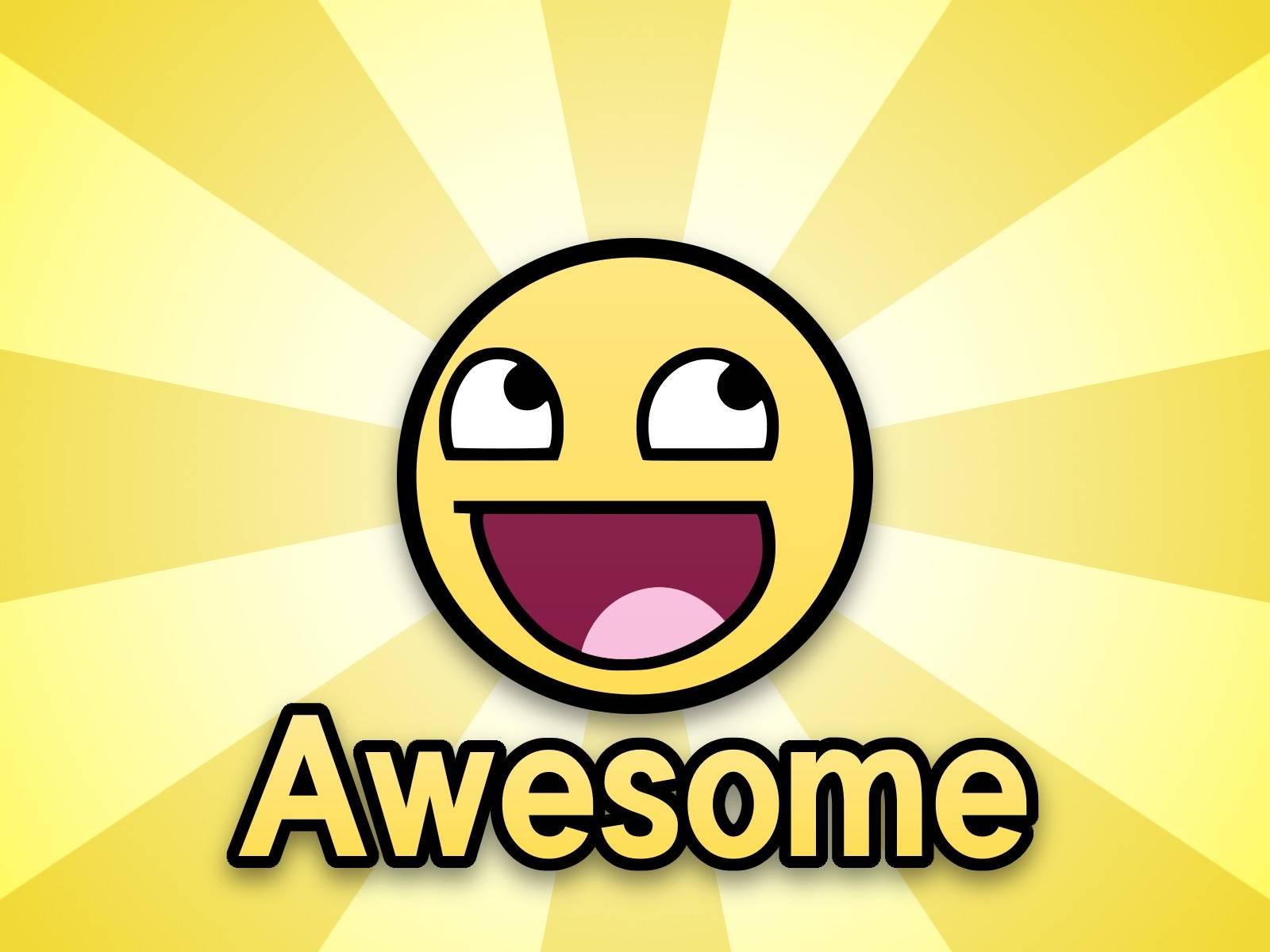 Smiley face 1600x1200 wallpaper 775678