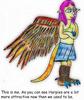 Large  harpy avatar mb