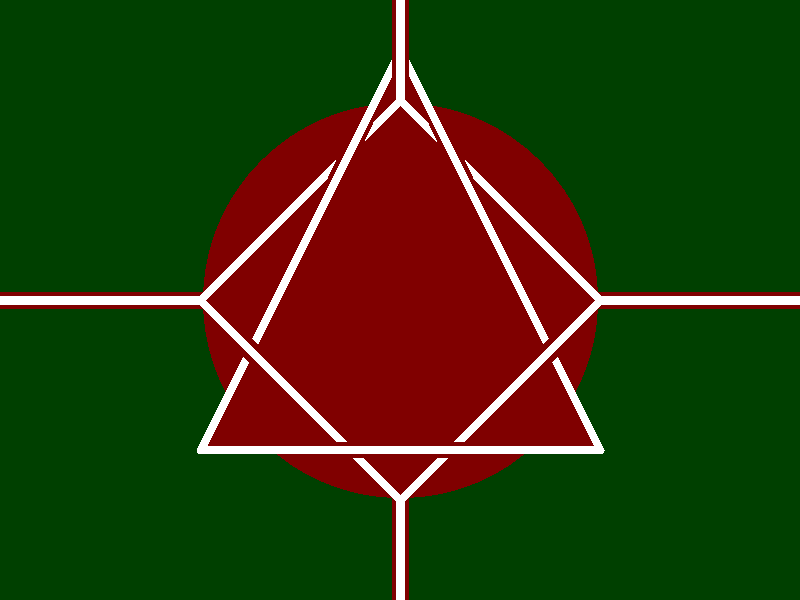 Crimson covenant marsian flag a less naziish version
