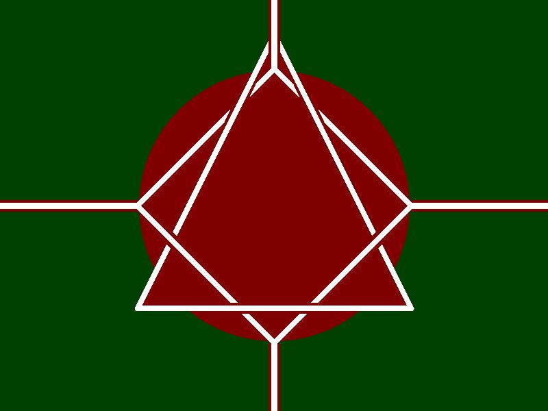 Crimson covenant marsian flag a less naziish version