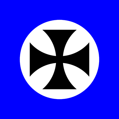 Neo crusader flag square