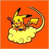 Large dragon ball pikachu