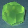 Large green d18 sided dice