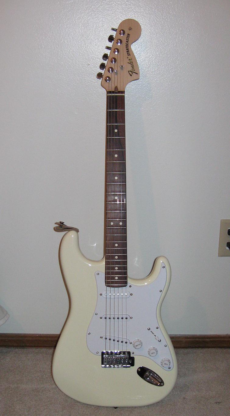2008 fender stratocaster