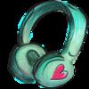 Large headphone icon