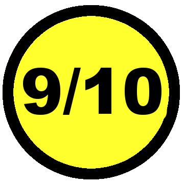 9 10 rating