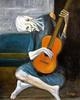 Large picassos old guitarist leonardo ruggieri  1